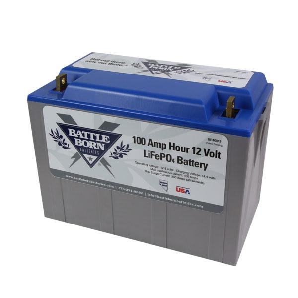 Lithium Ferro Phosphate batteries.